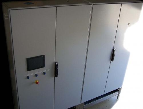 Nouvelles armoires électriques
